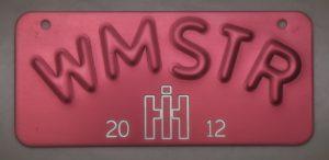 IH License Plate
