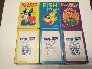 WMSTR Choo Choo Cards