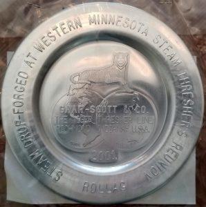 2001 Plate