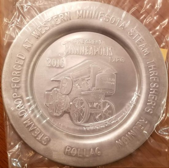 2016 Plate